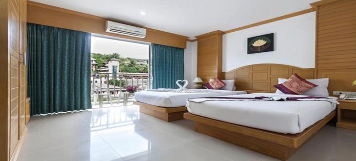 83 bedroom Patong beach Hotel for lease