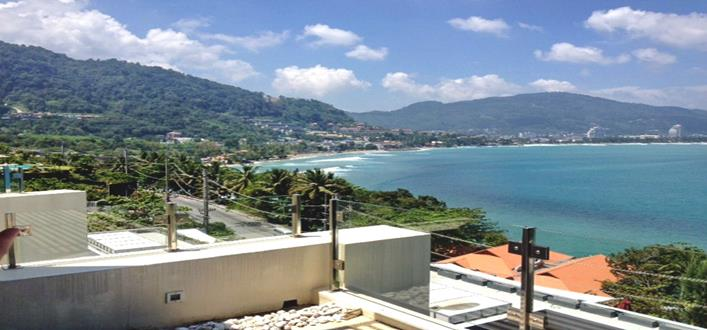 Freehold sea view Apartment for sale Kalim