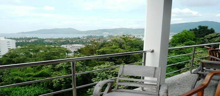 Sea view penthouse for sale Patong