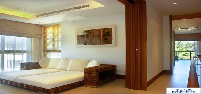 Seafront penthouses in Nai Thon for sale. Offering Apartments for sale and re-sale in a secure community on Phuket for expats, retirees and families. - 6