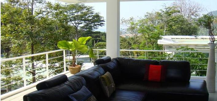Spacious sea view Condo in Kamala for sale