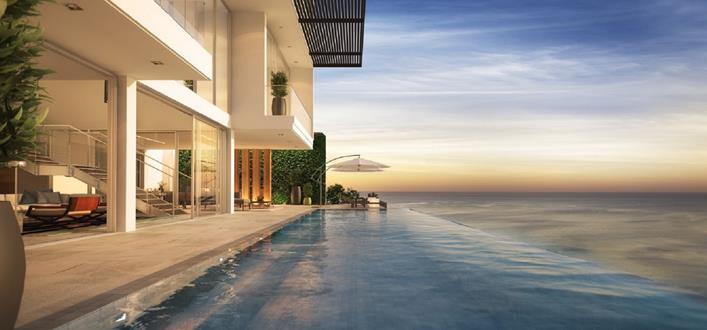 Luxury beach front Apartments for sale Nai Thon