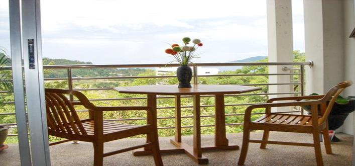 Sea view Apartment in Patong for sale