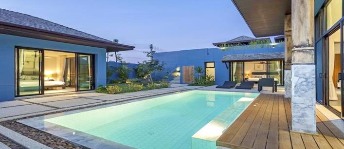 1 bedroom pool Villa for sale Cherng Talay