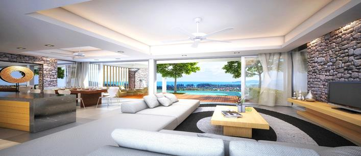4 bedroom sea view Villa for sale Bang Tao