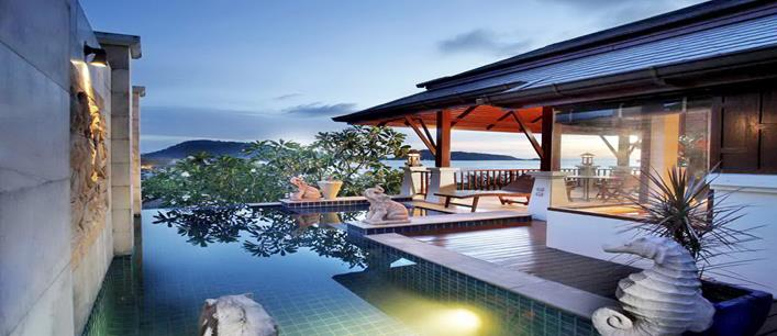 2 bedroom Superb ocean Villa for sale Patong