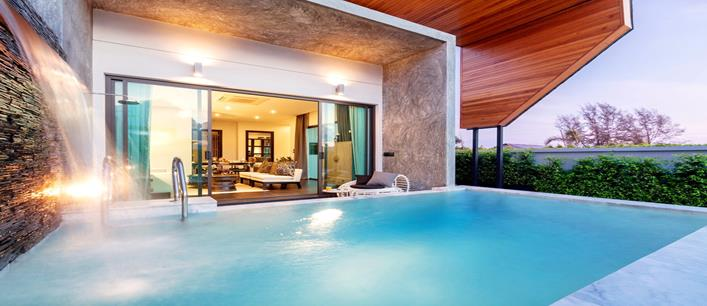 2 bedroom private pool Villa for sale Chalong