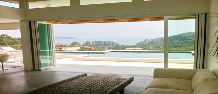 3 bedroom Infinity sea view Villa for sale Kamala