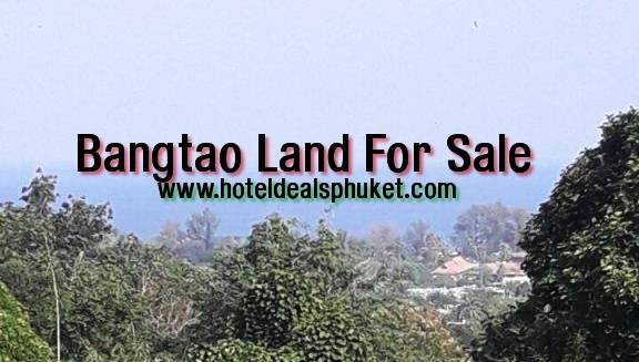 Eco Friendly Surin beach Rai of land For Sale on The Island of Phuket